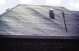 Does your roof have areas that look like air bubbles??