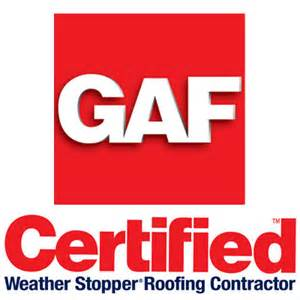 Outfitter Roofing Is Proud To Be A GAF Certified Roofing Contractor!